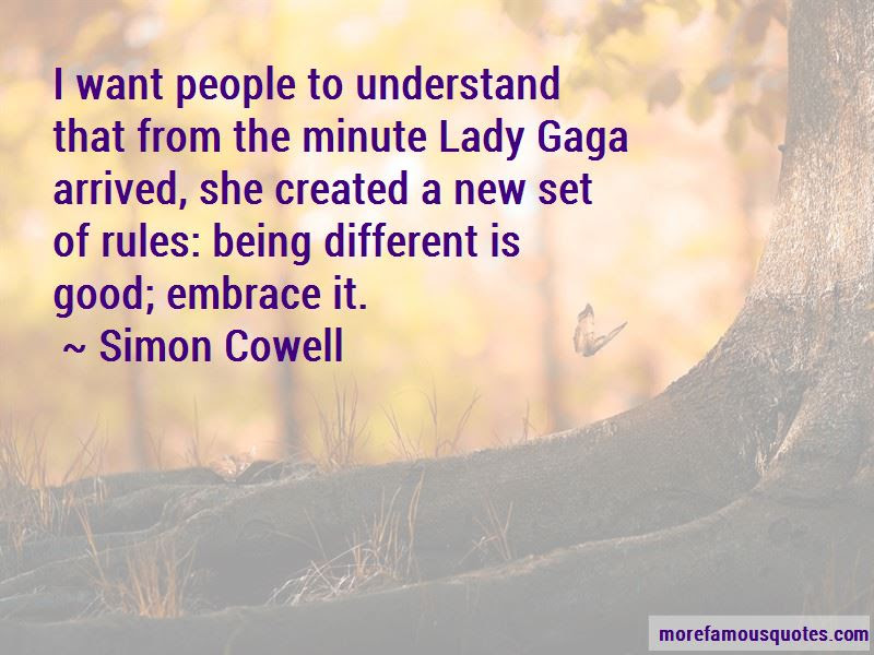 Quotes About Being Different Lady Gaga Top 1 Being Different Lady
