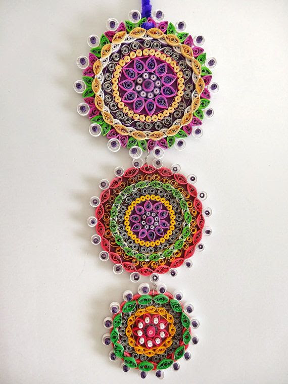 Hey, I found this really awesome Etsy listing at https://www.etsy.com/listing/181538179/purple-themed-floral-paper-quilled-wall