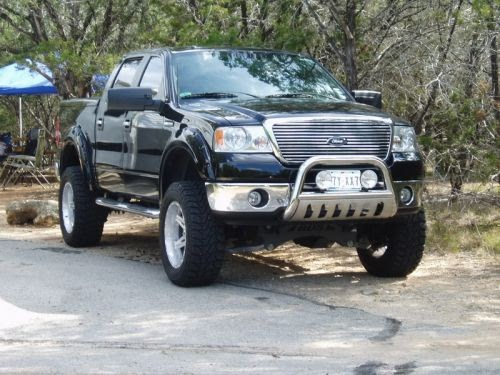 2008 Ford F 150 Fx4 In Houston Tx: Black Holes Working: Ford F150 Lariat Lifted