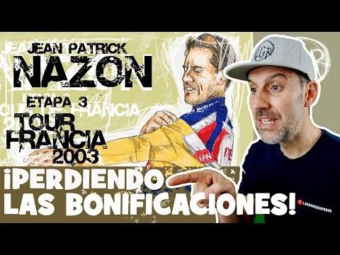 TDF2003. ¡Que TE PILLAN las BONIFICACIONES!. Tour de Francia 2003. Etapa 3 - Alfonso Blanco