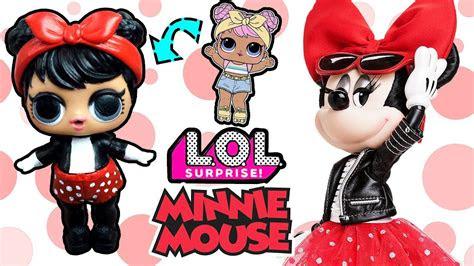 lol bebek doenuesuemue minnie mouse lol confetti pop suerpriz
