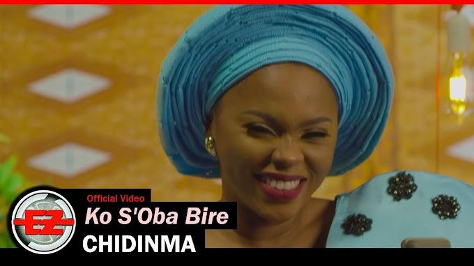 Listen to Chidinma's new record, 'Ko S'Oba Bire'