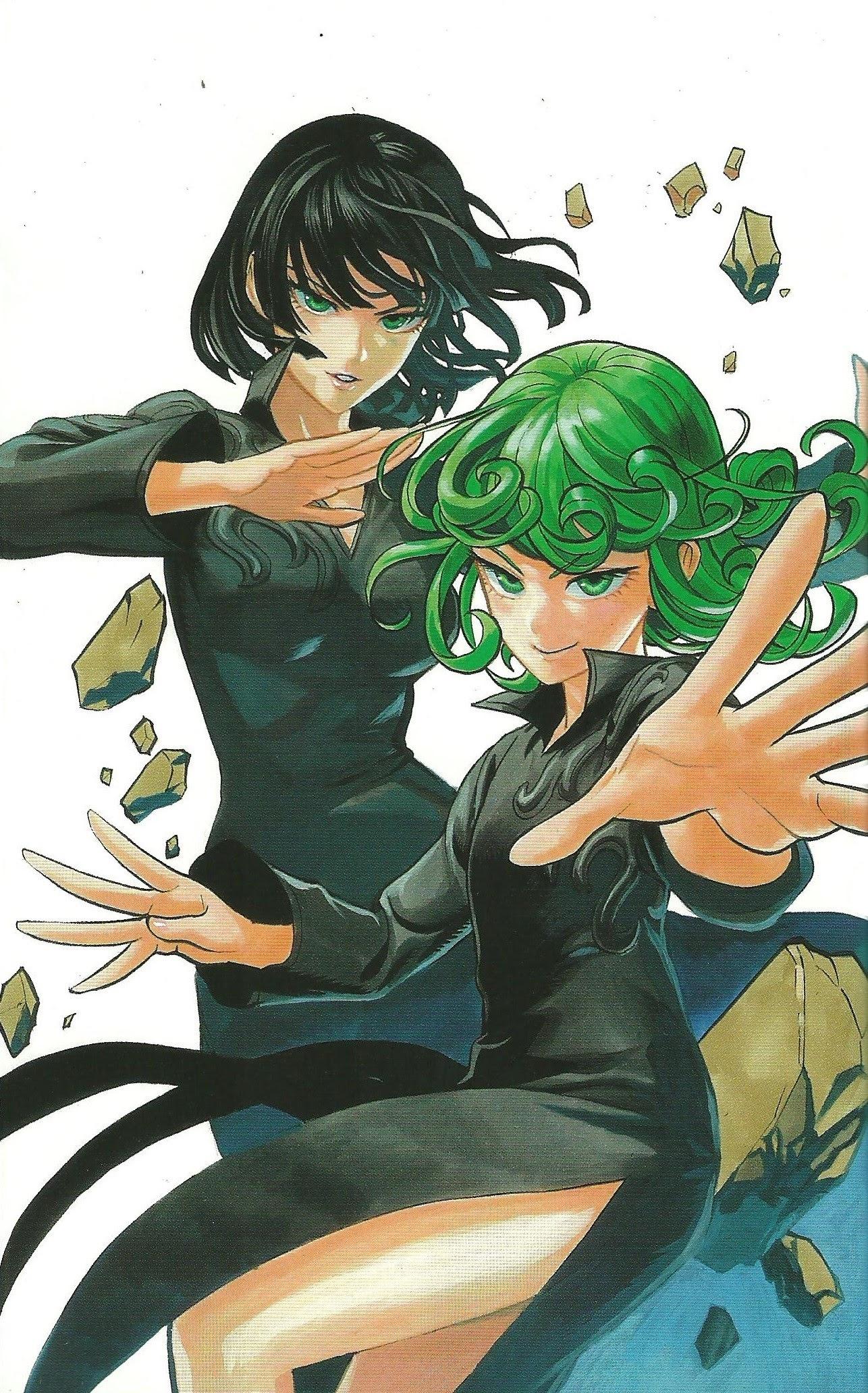 Fubuki And Tatsumaki One Punch Man Wallpaper 42972212 Fanpop