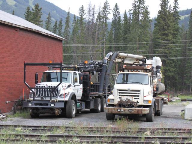 CP vacuum trucks, Banff