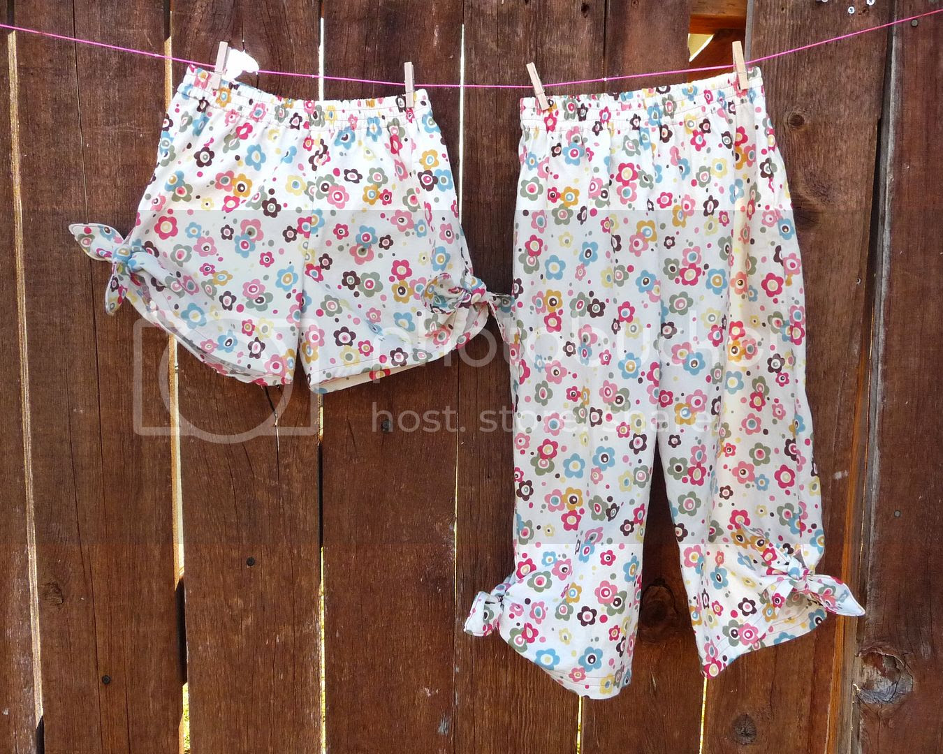 little girl shorts sewing tutorial
