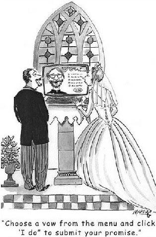 Wedding Humor - Jokes and Cartoons