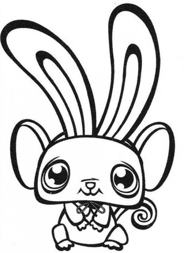 Littlest Pet Shop Bunny Coloring Pages at GetColorings.com ...