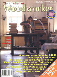 Details about WOODWORKING MAGAZINE - THE AUSTRALIAN WOODWORKER No 99