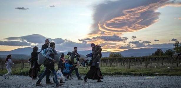 Mudança climática também estaria por trás do fluxo de refugiados da Síria