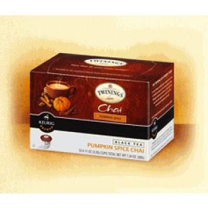 Pumpkin Spice Chai Tea Keurig Kcups