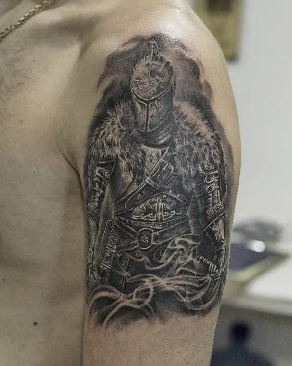 100+ Warrior Tattoo Designs to Get Motivated