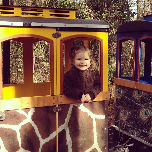 1st train ride