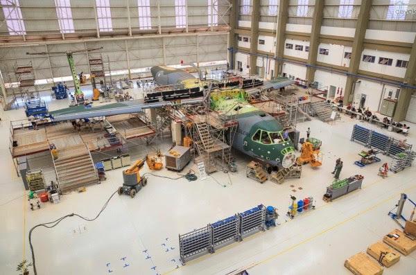 El segundo prototipo del KC-390 debe ser presentado en septiembre u octubre de 2015. (Foto: Sgt. Batista / Fuerza Aérea Agencia)