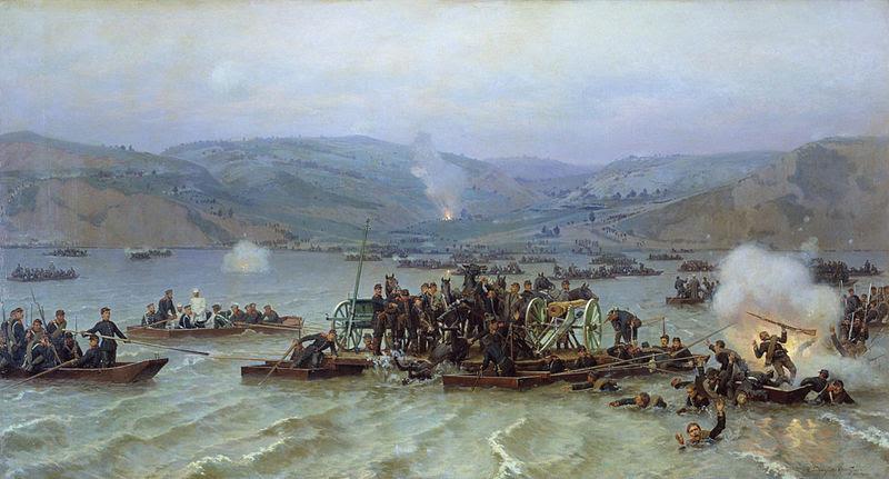 Archivo: Pereprava cherez Dunaj.jpg