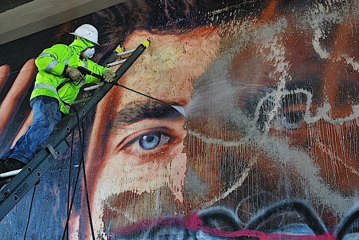 Save Freeway Murals Los Angeles Fine Art Conservation