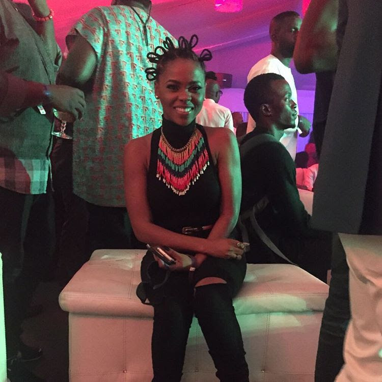 Chidinma Ekhile Rocks Simbi Hairstyle Made With Thread (Photos)