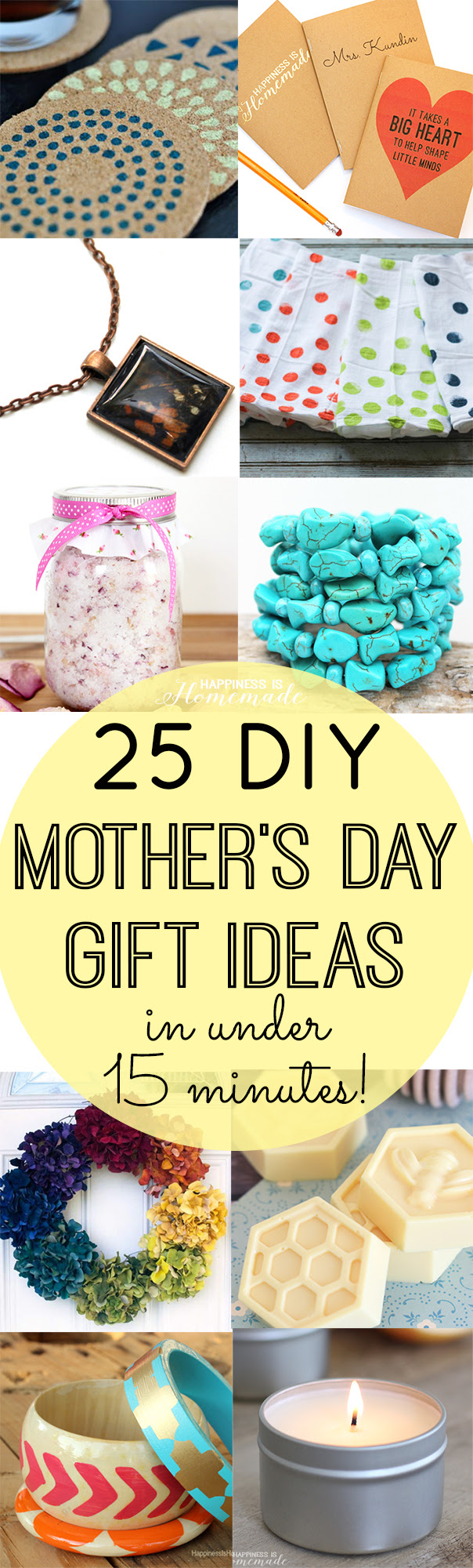 Gifts for Mom Under $20 Mason Jar Themed!  The Country Chic Cottage