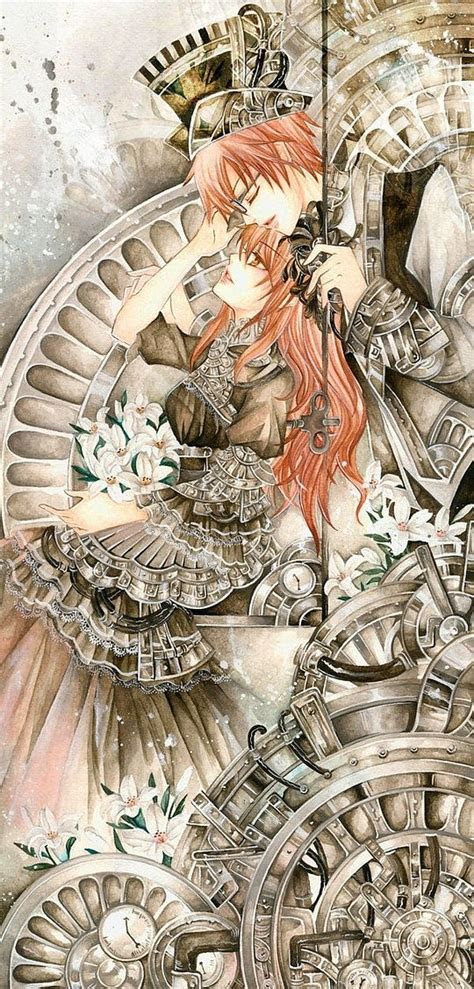 steampunk anime images  pinterest