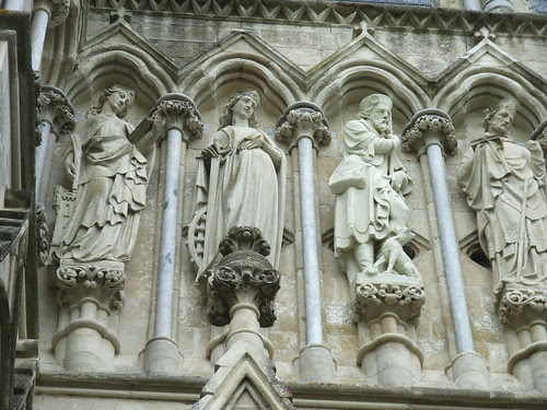 Salisbury Cathedral statues