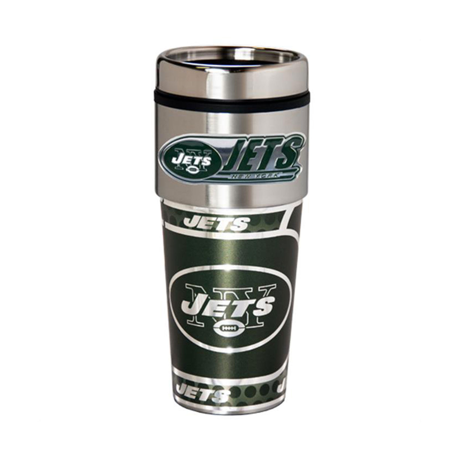 New York Jets Travel Mug NFL Football Team Logo 16 oz Coffee Tea NYJ New  eBay