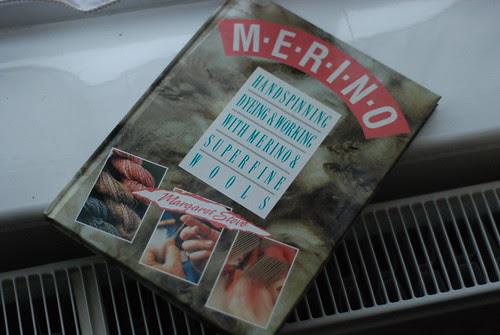 Margaret Stove merino handspinning book from Handweaver's Studio and Gallery