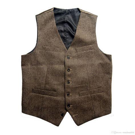 Online Cheap 2017 Vintage Spring Summer Brown Wool Tweed