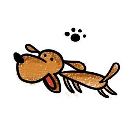 ダックスフントのイラスト Inuccoについて 犬のしつけ犬の教育