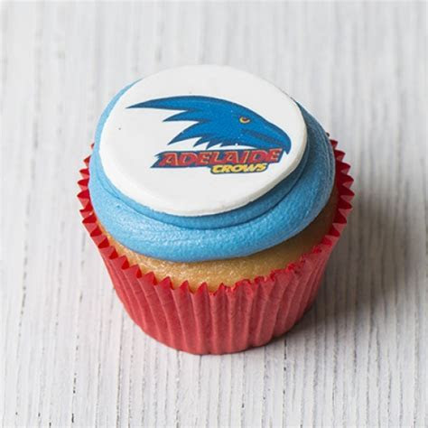 Adelaide Crows Cupcakes