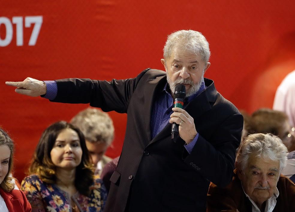 Lula é réu na Operação Lava Jato (Foto: André Penner/AP)