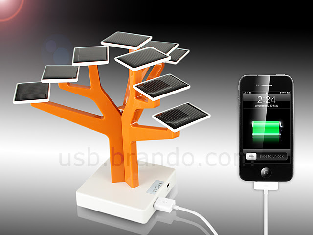 Árvore USB Solar Charger
