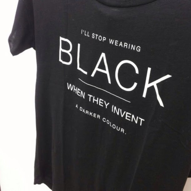 T Shirt Top Black Top Dark T Shirt Colorful Black Quote On It