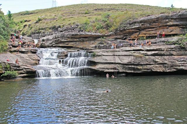 Cachoeira do Panelão em Palmeiras Paraná