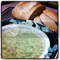 Broccoli and Cheese Soup @ Hickory Ridge Studio