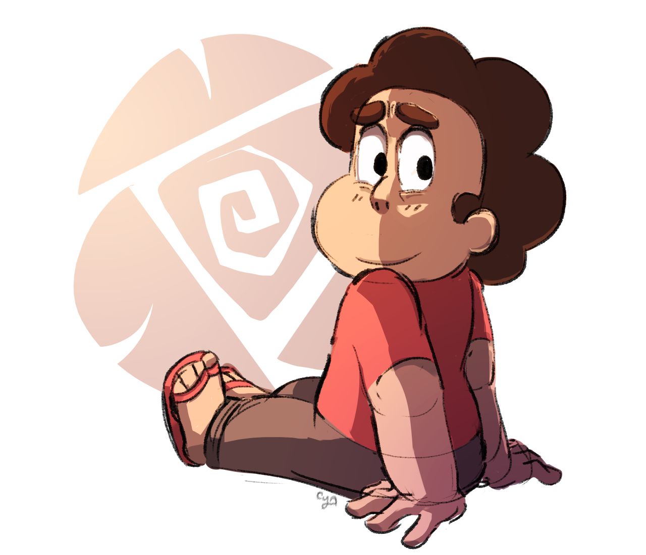 hanging out with steven would cure my depression