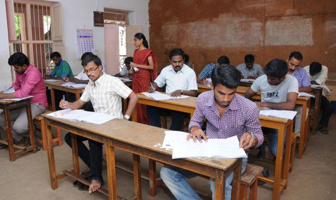 Image result for Tamilnadu high school exam hall