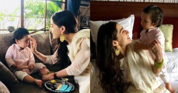 He smiles, everybody around is happy, Sara Ali Khan explains about spending time with taimur Ali khan