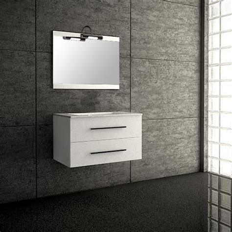 seville blanc meuble de salle bain suspendu  cm achat