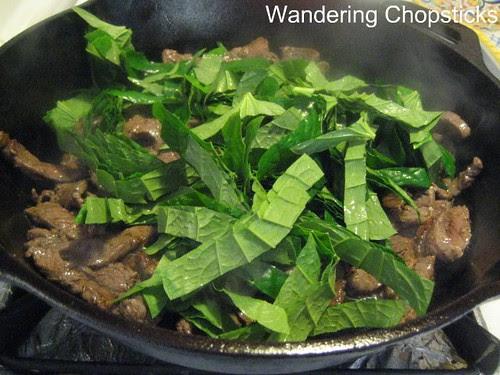 Bo Xao La Lot (Vietnamese Sauteed Beef with Wild Betel Leaf) 3