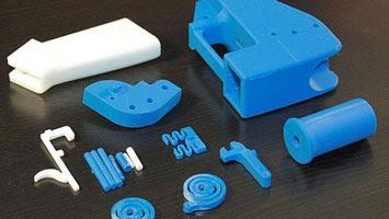 Plastic gun parts