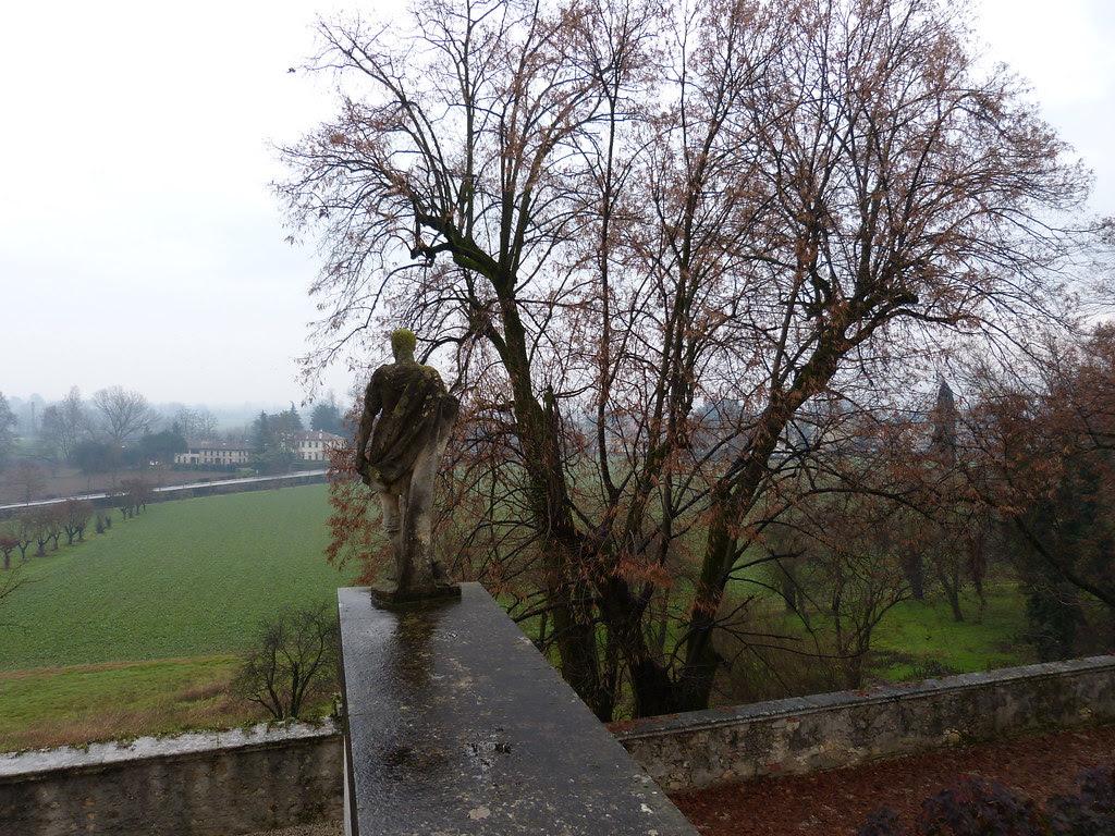 Staute, Villa La Rotonda, Vicenza
