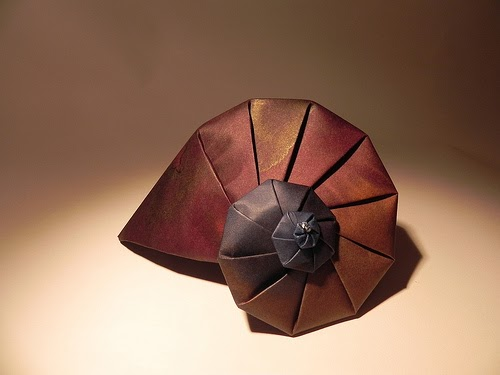 All Things Paper Origami Nautilus