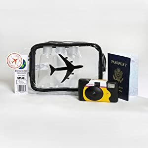 The Clear Bag Store TSA Compliant Carry on Travel Cosmetic