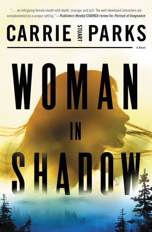 Woman in Shadow by Carrie Stuart Parks