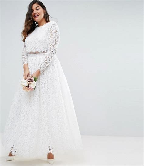 14 Affordable Plus Size Wedding Dresses That Cost Under