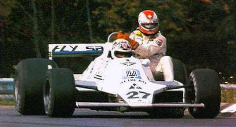 GP do Oeste dos Estados Unidos de 1979: o australiano Alan Jones e o suiço Clay Regazzoni