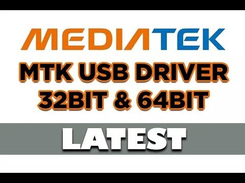MTK (MediaTek Drivers) Installation Process Any Windows 64 bit