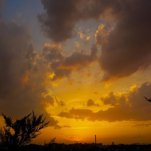 sunset of kyodo
