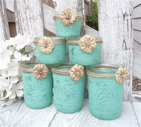15   RUSTIC MINT WEDDING   Shabby Chic Upcycled Country