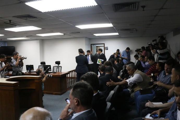 Grêmio stjd tribunal julgamento racismo (Foto: Diego Guichard/GloboEsporte.com)