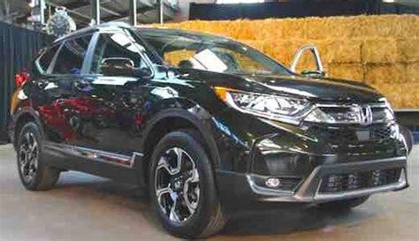 honda crv black car  release